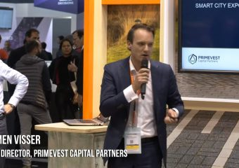 Pitch Primevest Capital Partners – Slimme openbare knooppunten - Heimen Visser, Fund Manager bij Primevest Capital Partners, heeft op 19 November 2019 tijdens de Smart City Expo World Conference in Barcelona een value case gepresenteerd op basis van de 17 duurzame ontwikkelingsdoelen bij de transformatie van traditionele openbare verlichting naar duurzame slimme openbare knooppunten in openbare ruimtes. U kunt hier zijn volledige pitch luisteren. […]